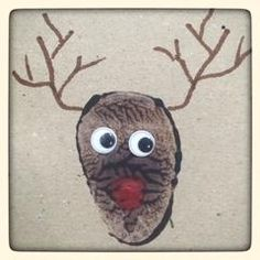 Love these potato print reindeers - kids of any age can get involved and they are super quick and easy! Perfect for personal gift tags or Christmas cards. Christmas Decorations For Kids, Diy Christmas Cards, Christmas Crafts For Kids, Christmas Activities, Xmas Crafts, Christmas Potatoes, Potato Print, Winter Cards, Preschool Crafts
