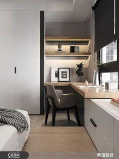 現代風的裝潢圖片為新澄設計的設計作品,該設計案例是一間新成屋(5年以下)總坪數為52,格局為三房,更多新澄設計設計案例作品都在設計家 Searchome