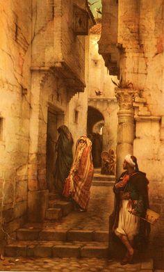 The Love Toke -Charles Lebrun Guillaume (Painter) Portrait Photos, Art Ancien, Islamic Art, Oeuvre D'art, Art History, Painting & Drawing, Fantasy Art, Concept Art, Cool Art