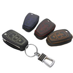 Brand New High Quality leather Smart Remote key Case Cover Holder For Ford Escape 2013 #Affiliate