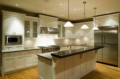Kitchen Lighting Trends - http://homedecorwallpapers.com/636-kitchen-lighting-trends.html