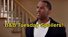 The Bold and the Beautiful Spoilers: Tuesday, July 13 – Liam Hears Vinny Suicide Story – Eric Demands Carter as Divorce Rep | Celeb Dirty Laundry Rena Sofer, Spencer Scott, The Shocker, Bold And The Beautiful, Be Bold, Coming Home, Get The Job, Number One, Awkward