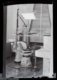 Dental Dentist Medical Equipment Drill Antique Vintage Photographic ...