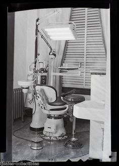 Dental Dentist Medical Equipment Drill Antique Vintage Photographic ...