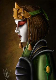 Suki (Avatar: The Last Airbender) by lerielos.deviantart.com on @deviantART