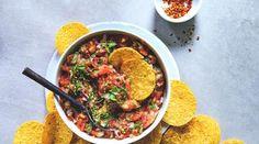 Oppskrifter – Enriched Food Gazpacho, Bruschetta, Guacamole, Pesto, Quinoa, Curry, Snacks, Chicken, Ethnic Recipes