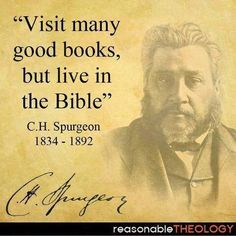 Live the Bible I enjoy everything this man writes.  God and Charles Spurgeon, that is.
