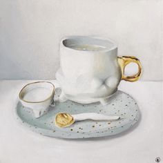 Upcoming Artists, Artworks, Tea Cups, Ford, Cup Of Tea, Art Pieces