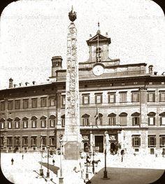 Roma Sparita - Piazza di Montecitorio