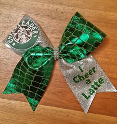 Hey, I found this really awesome Etsy listing at https://www.etsy.com/listing/191044337/cheer-bow-i-cheer-a-latte-cheer-bow