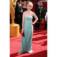 Cynthia Nixon Strapless Custom Prom Dress 2008 Emmy Awards Red Carpet