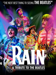 ChiIL Mama: REVIEW: Flashback to the 60's in Style with RAIN: A Tribute to the Beatles at Oriental Theatre Through Sunday