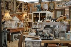 Marburger Farm Antique Show, Round Top, Texas...would hope to see the Junk Gypsy sisters there!