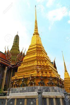 Templo del Buda Esmeralda o Wat Phra Kaew.
