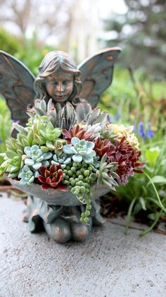 Create a little something special for that favorite place in the garden, here's how!
