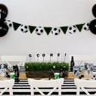 Soccer Party Tablescape