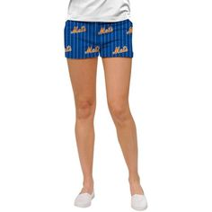 New York Mets Loudmouth Women's Mini Shorts - Royal - $59.99