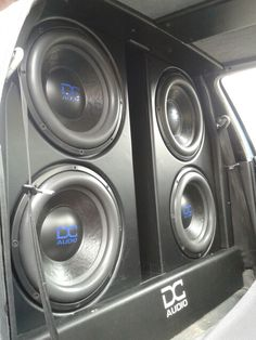 Beautiful speakers for an amazing party