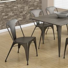 Shop Monarch Specialties  I 1081 Metal Cafe Dining Chair (Set of 2) at ATG Stores. Browse our dining chairs, all with free shipping and best price guaranteed.