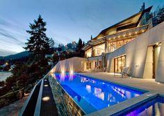 fantastic architecture fantasic pool fantastic lights fantasic views :)