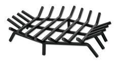 24 inches steel fire pit grate in hexagonal shape
