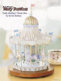 """Mary Poppins """"Jolly Holiday"""" Music Box by Miehana, via Flickr"""