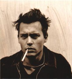 Johnny Depp by Anton Corbijn