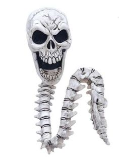 The Skull Tangler is Sure to Frighten Halloween Goers #halloween #homedecor trendhunter.com