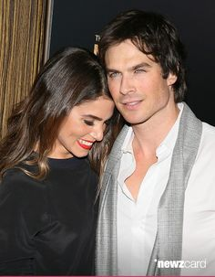 Nikki Reed and Ian Somerhalder attend the 3rd Annual Noble Awards held at the Beverly Hilton Hotel on February 27, 2015 in Beverly Hills, California.(Photo by JB Lacroix/WireImage)