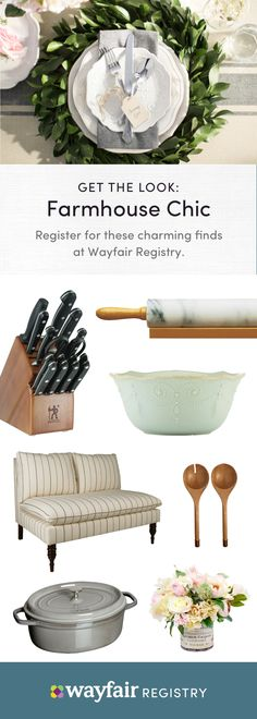 """Register with Wayfair Registry to build your happily ever after. From bedroom furniture to kitchen must-haves and more, our selection makes it easy to find gifts you'll love. It's fun and free to get started; just visit our website to discover unique gift ideas and expert tips, then use our checklist to keep track of items. Plus, enjoy free shipping, extended returns, and practical guidance from your own Registry Specialist. Simply put, it's the best decision you'll make besides saying """"I…"""