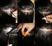 How to install hair extensions amy leeds belle certified apply hot fusion hair extensions pmusecretfo Images