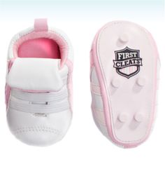 Cleats for her :0) Like Daughter Like Daddy