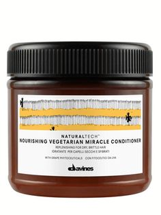 Naturaltech Nourishing Vegetarian Conditioner by Davines. Love this product line and color line. It has transformed my hair along with many others!