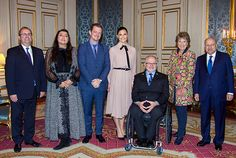 Crown Princess Victoria at a meeting for the parolympics - Victoria in Ralph Lauren