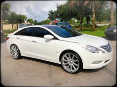 2013 Hyundai Sonata..This is the car we are thinking about buying either in white or black.