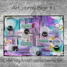 Art Journal Page #1 - a youtube video as an tutorial and diy.   https://www.youtube.com/watch?v=u40OQLEVUQs #ArtJournal  tagged with: art journal, art journal ideas, art journal pages, art journal inspiration