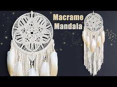 Macrame Wall Hanging Patterns, Macrame Art, Macrame Design, Macrame Projects, Macrame Knots, Macrame Tutorial, Diy Tutorial, Dream Catcher Patterns, Doily Art