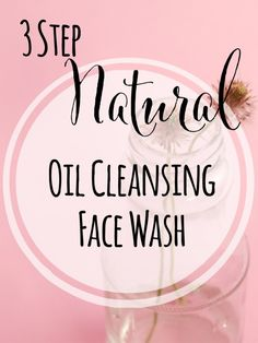 3 Step Natural Oil Cleansing Face Wash | Join me as I journey through the land of oil cleansing. If you think that it sounds crazy to rub oil on your face, then this post is for you! It includes recipes to try, different oils blends, and tips and tricks along the way.