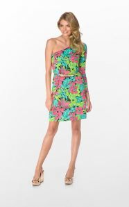 Last year's Lilly Pulitzer Resort Collection and other fashionable accessories.