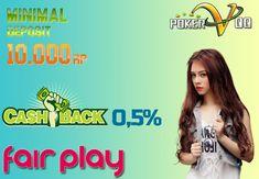 Selamat datang di salah satu Situs Poker Online terbaik di Indonesia, POKERVQQ hadir memberikan promo deposit yang sangat terjangkau. hanya dengan minimal Rp.10.000 anda sudah dapat memenangkan jutaan hingga ratusan juta rupiah .. Join dan raih bonus bonus jackpot di dalam nya.