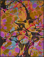 momo's paper arts - marbled paper