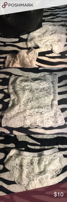 🐸 1 DAY SALE - White LACE Lingerie! NEW.  Women's size L, but the top fits like a size M/L, and the bottom fits like a size S/M.  NO additional offers accepted.  BUNDLE and save on shipping! 😜 Other