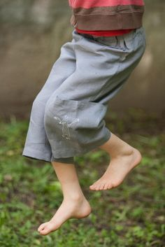 linen long short for boys by Adatine
