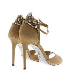 Boutique en ligne Sandales Haut Gamme et Luxe | Mercedeh : 8709 SUED STONES by…