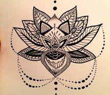 tattoo mandala lotus - Recherche Google