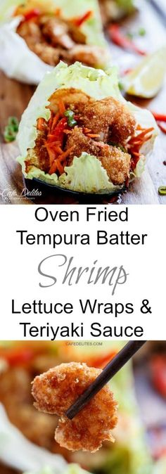 Oven Fried Teriyaki Tempura Shrimp cafedelites-66