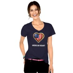 American Heart Customizable T Shirt ***** Presidents Day Sale - SAVE UP TO $100! Ends Monday Code: BUYNSAVEDEAL *****