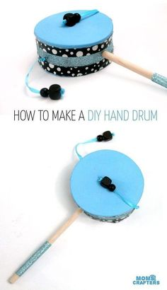 Make this fun diy musical instrument – a hand drum! Such a fun DIY toy for kids,… Sponsored Sponsored Make this fun diy musical instrument – a hand drum! Such a fun DIY toy for kids, and a craft that… Continue Reading → Instrument Craft, Homemade Musical Instruments, Making Musical Instruments, Drum Lessons For Kids, Drums For Kids, Music Crafts, Fun Crafts, Diy For Kids, Crafts For Kids