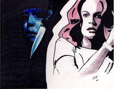 Jamie Lee Curtis by BladaMerry on DeviantArt