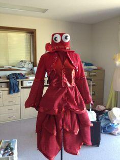 Image result for Sebastian Costumes the little mermaid